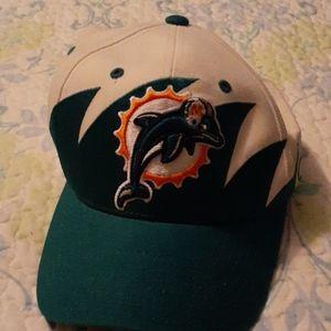 Miami Dolphins hat. Reebok NFL